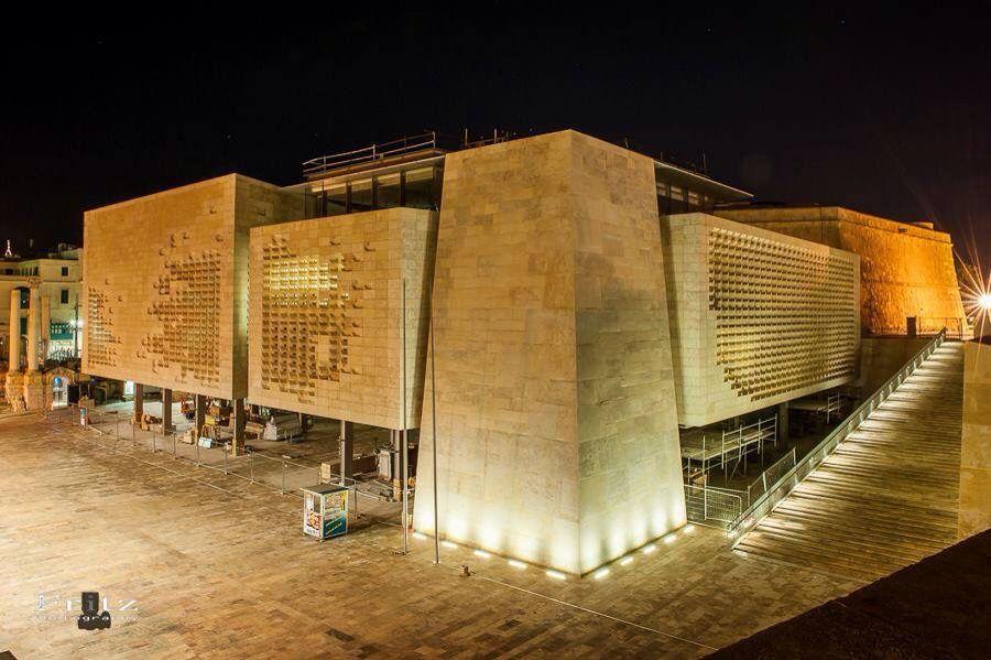 Malta Parliament Project